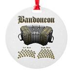 Bandoneon 2 Round Ornament