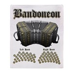 Bandoneon 2 Throw Blanket