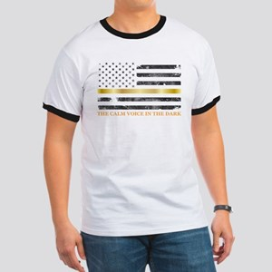 Thin Yellow Line - Thin Gold Line T-Shirt