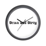 Down and Dirty Wall Clock