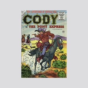 Cody of the Pony Express #8 Rectangle Magnet