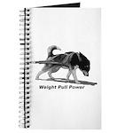 Weight Pull Power Journal
