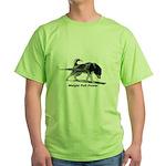 Weight Pull Power Green T-Shirt
