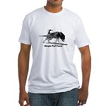 Weight Pull Power Fitted T-Shirt