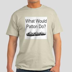 What Would Patton Do? Ash Grey T-Shirt