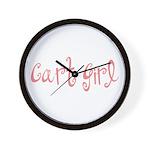 Cart Girl Wall Clock