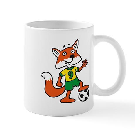 soccer fox Mug