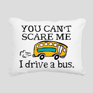 Bus Driver Rectangular Canvas Pillow
