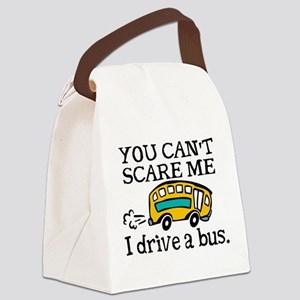 Bus Driver Canvas Lunch Bag
