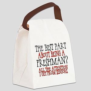 the best part freshman Canvas Lunch Bag