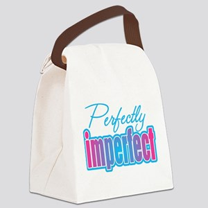 Perfectly Imperfect Canvas Lunch Bag