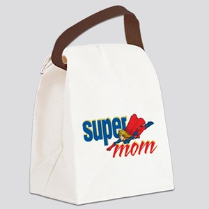 SuperMom Canvas Lunch Bag
