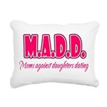 M.A.D.D. Rectangular Canvas Pillow