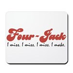 Four-Jack Mousepad