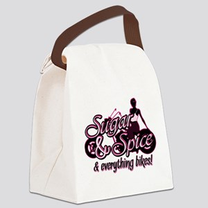 Sugar & Spice Canvas Lunch Bag