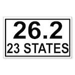 262in23 Sticker (Rectangle 50 pk)