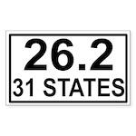 262in31 Sticker (Rectangle 50 pk)