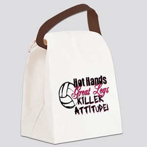 Hot Hands & Great Legs Canvas Lunch Bag