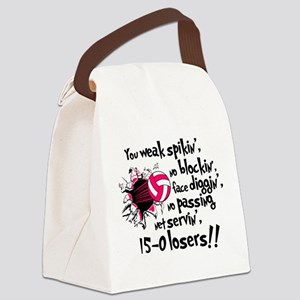 15-0 Losers Canvas Lunch Bag