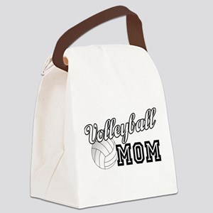 Volleyball Mom Canvas Lunch Bag