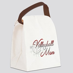 Volleyball Mom 3 Canvas Lunch Bag