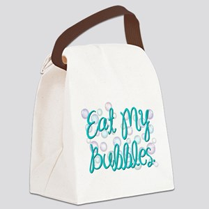 Eat my Bubbles Canvas Lunch Bag