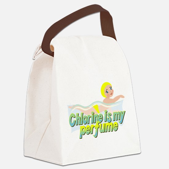 Chlorine is my perfume Canvas Lunch Bag