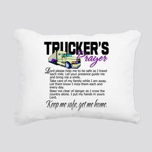 Trucker's Prayer Rectangular Canvas Pillow