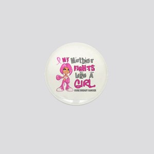 Licensed Fight Like A Girl 42.9 Breast Mini Button