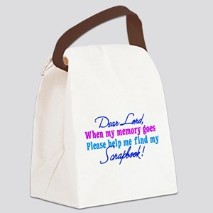 Dear Lord Canvas Lunch Bag