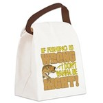 If Fishing is Wrong Canvas Lunch Bag