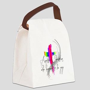 Gay Christian Canvas Lunch Bag