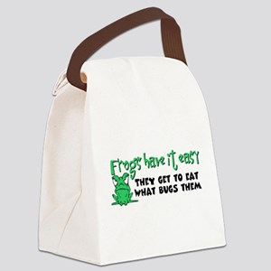 frogs23 Canvas Lunch Bag