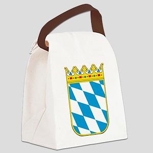 Bayern Wappen Canvas Lunch Bag