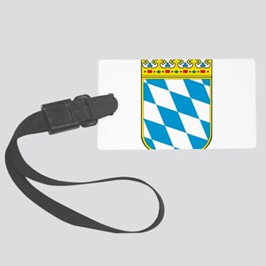Bayern Wappen Large Luggage Tag