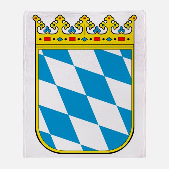 Bayern Wappen Throw Blanket