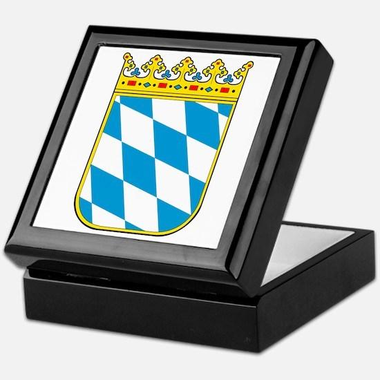 Bayern Wappen Keepsake Box