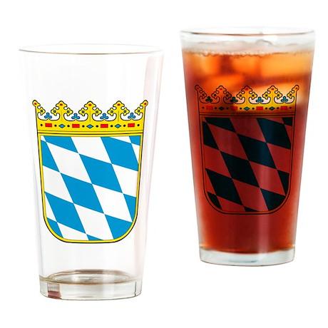 Bayern Wappen Drinking Glass