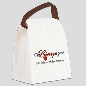 The Cherry is Gone Canvas Lunch Bag