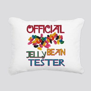 Jelly Bean Tester Rectangular Canvas Pillow