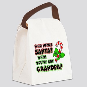 grandpasanta Canvas Lunch Bag