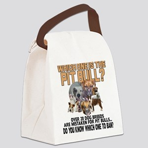 Find the Pit Bull Canvas Lunch Bag