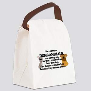 Dumb Animals Canvas Lunch Bag