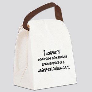 I Wonder If Other Dogs... Canvas Lunch Bag