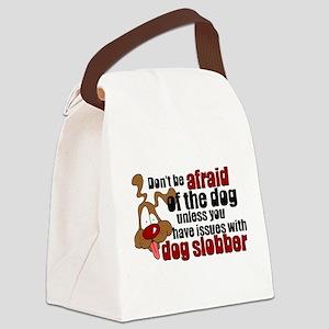 SLOBBER2 Canvas Lunch Bag