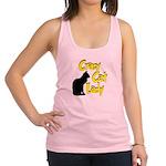 crazy cat lady.png Racerback Tank Top