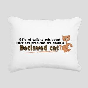 declawcall Rectangular Canvas Pillow