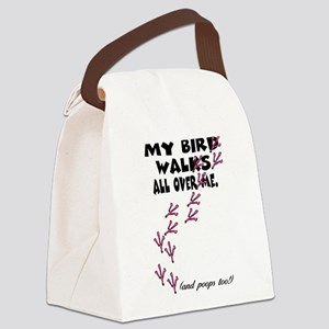 My Bird Walks... Canvas Lunch Bag