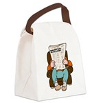 Suicidal Twin Canvas Lunch Bag