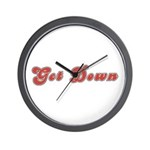Get Down Wall Clock
